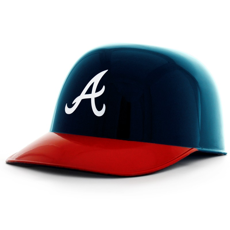 Atlanta Braves Ice Cream Baseball Helmet
