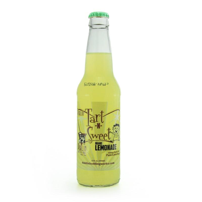 Retro Dublin Tart and Sweet Soda in a Glass Bottle