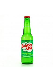 Retro Bubble Up Soda in a Glass Bottle