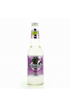 Retro Flathead Lake White Grape Gourmet Soda in a Glass Bottle