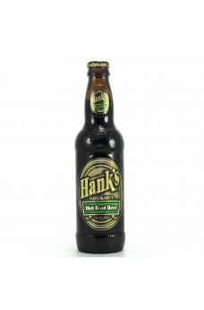 Retro Hank's Diet Root Beer in a Glass Bottle