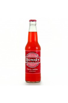 Retro Howdy Cherry Jubilee in a Glass Bottle