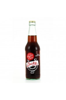 Diet Lucky Club Cola Guilt Free in a Glass Bottle