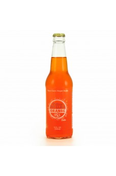 Retro Million Dollar Orange Soda in a Glass Bottle