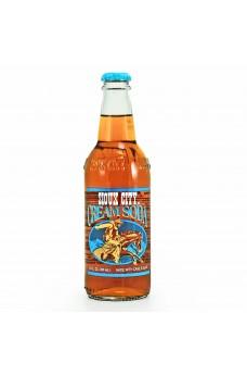 Retro Sioux City Cream Soda in a Glass Bottle