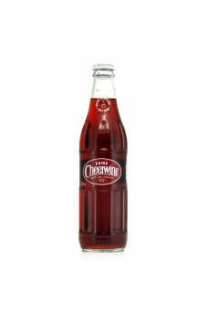 Retro Cheerwine Soda in a Glass Bottle