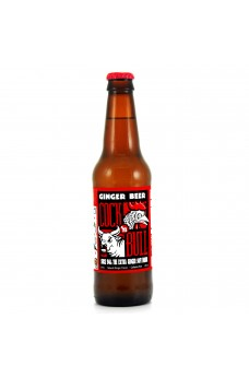 Retro Cock n Bull Ginger Beer Soda in a Glass Bottle