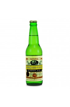 Cripple Creek Ginger Ale Soda in a Glass Bottle
