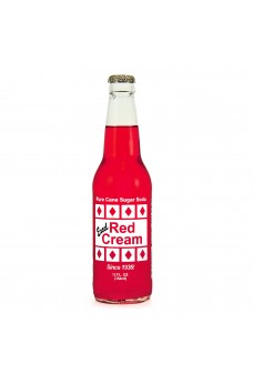Retro Excel Red Cream Soda in a Glass Bottle