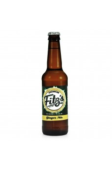 Retro Fitzs Ginger Ale Soda in a Glass Bottle