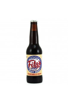Retro Fitzs Diet Root Beer in a Glass Bottle