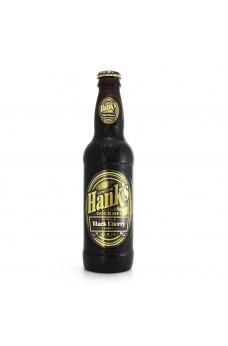Retro Hanks Black Cherry Soda in a Glass Bottle