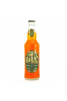 Retro Hank's Orange Cream Soda in a Glass Bottle