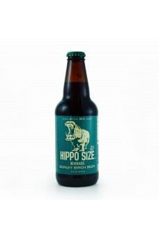 Retro Hippo Birch Beer Soda in a Glass Bottle