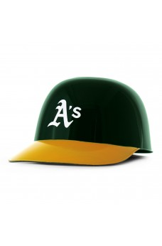 Oakland Athletics Ice Cream Baseball Helmet