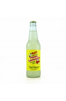 Retro Nesbitt's Honey Lemonade Soda in a Glass Bottle