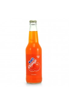 Retro Nesbitt's Orange Soda in a Glass Bottle