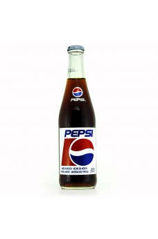 Retro Mexican Pepsi Soda in a Glass Bottle