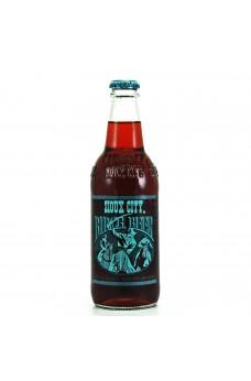 Retro Sioux City Birch Beer Soda in a Glass Bottle