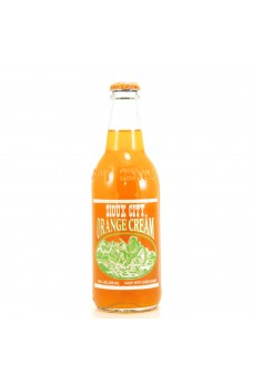 Retro Sioux City Orange Cream Soda in a Glass Bottle