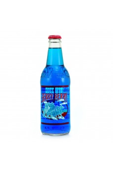 Retro Sioux City Berry Berry Soda in a Glass Bottle