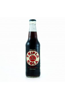 Retro Triple Cola Soda in a Glass Bottle
