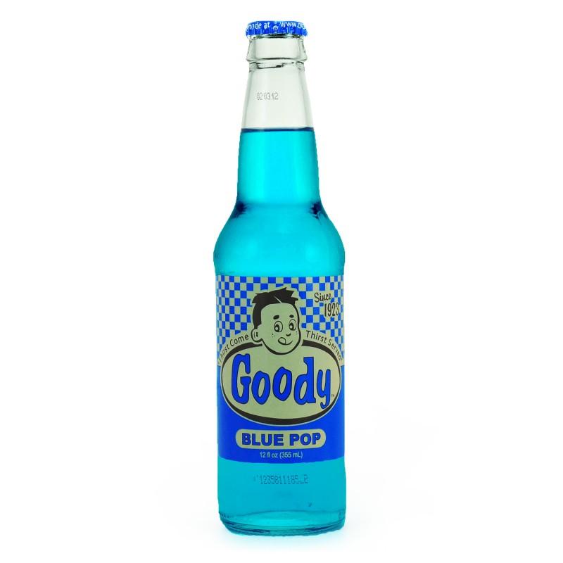 GOODY BLUE POP - Vintage Soda Pop
