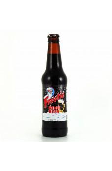 Retro Frostie Root Beer in a Glass Bottle