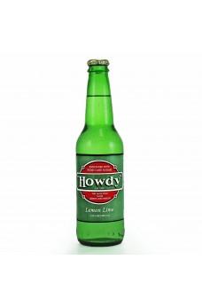 Retro Howdy Lemon Lime Soda in a Glass Bottle