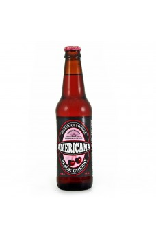 Retro Americana Black Cherry Soda in a Glass Bottle