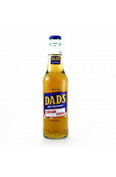 Retro Dad's Old Fashioned Cream Soda in a Glass Bottle