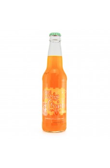 Retro Dublin Orange Cream Soda in a Glass Bottle