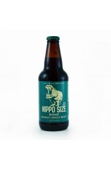 Retro Hippo Birch Beer Soda in a Glass Bottle