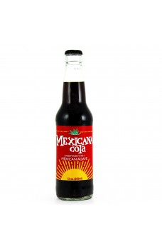 Retro Mexicana Cola Soda in a Glass Bottle