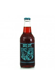 Retro Sioux City Birch Beer Soda in a Glass Bottle