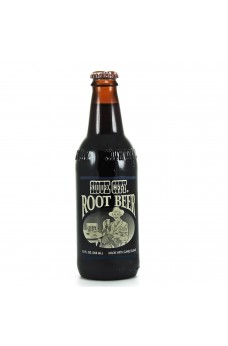 Retro Sioux City Root Beer Soda in a Glass Bottle