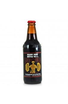 Retro Sioux City Sarsaparilla Soda in a Glass Bottle