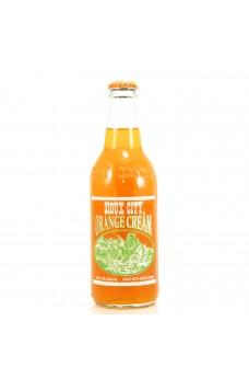 Retro Sioux City Orange Cream Soda in a Glass Bottle