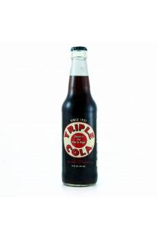Retro Triple Cola Soda in a Glass Bottle